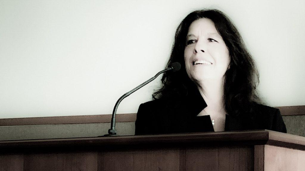 Speaker Mary Corning